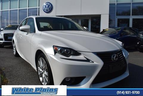 2016 Lexus IS 300 for sale in White Plains, NY