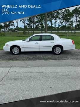 Lincoln Town Car For Sale In Fort Pierce Fl Wheelz And Dealz Llc