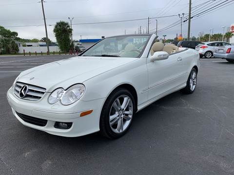 2007 Mercedes-Benz CLK CLK 350 for sale at Sam's Motor Group in Jacksonville FL