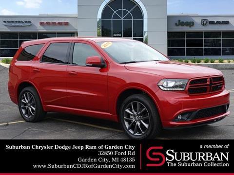 2018 Dodge Durango for sale in Garden City, MI