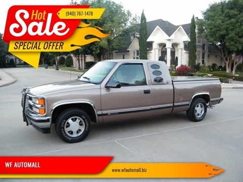 1996 Chevrolet C K 1500 Series For Sale In Wichita Falls Tx