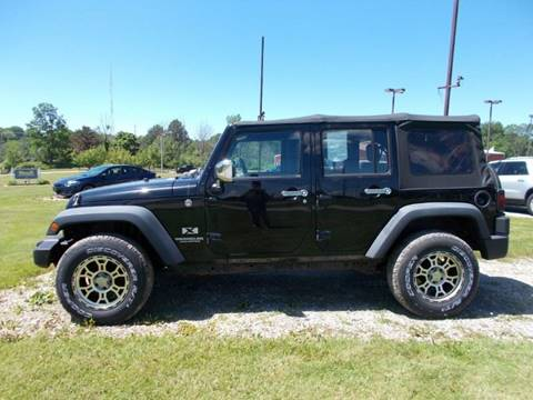 2009 Jeep Wrangler Unlimited for sale in Chardon, OH