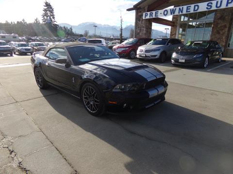 2011 Ford Shelby GT500 for sale in Port Angeles, WA
