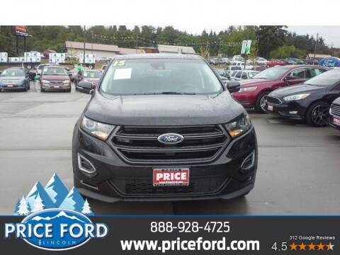 2015 Ford Edge for sale at Price Ford Lincoln in Port Angeles WA