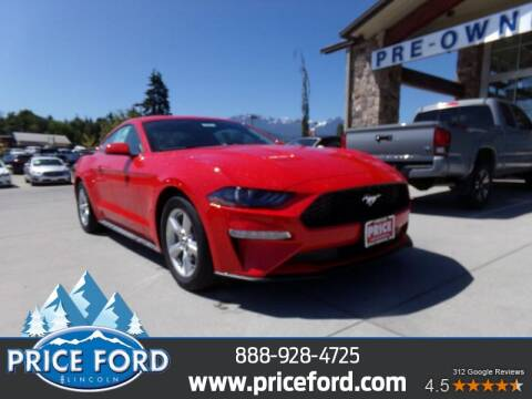 2019 Ford Mustang for sale at Price Ford Lincoln in Port Angeles WA