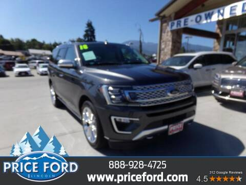 2018 Ford Expedition for sale at Price Ford Lincoln in Port Angeles WA