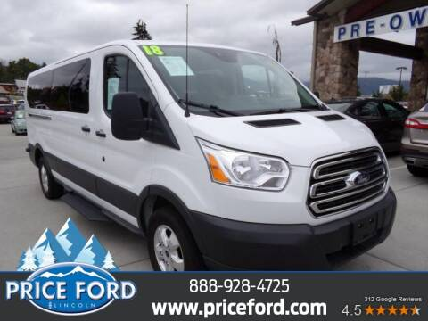 2018 Ford Transit Passenger for sale at Price Ford Lincoln in Port Angeles WA