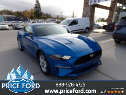 2020 Ford Mustang for sale at Price Ford Lincoln in Port Angeles WA