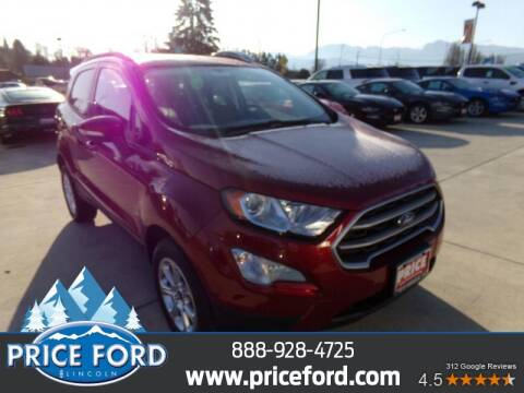 2020 Ford EcoSport for sale at Price Ford Lincoln in Port Angeles WA
