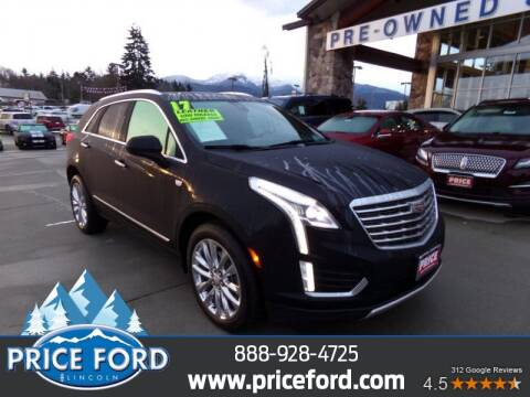 2017 Cadillac XT5 for sale at Price Ford Lincoln in Port Angeles WA