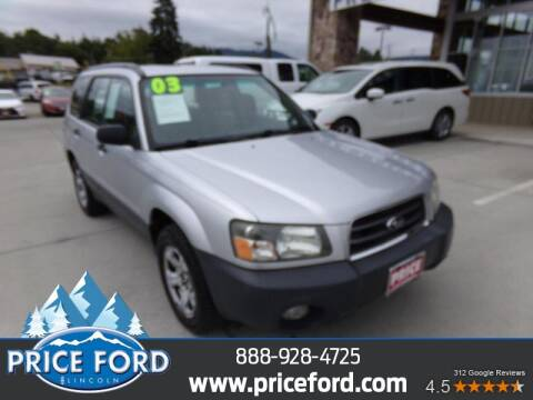 2003 Subaru Forester for sale at Price Ford Lincoln in Port Angeles WA