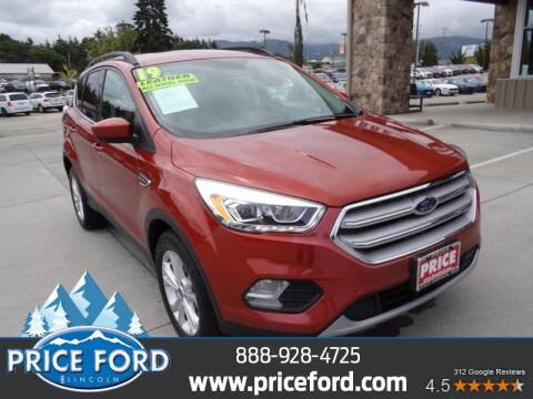 2019 Ford Escape for sale at Price Ford Lincoln in Port Angeles WA