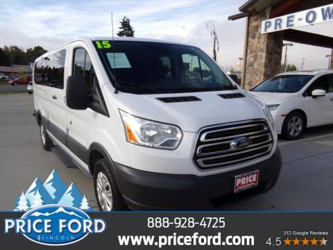 2015 Ford Transit Passenger for sale at Price Ford Lincoln in Port Angeles WA