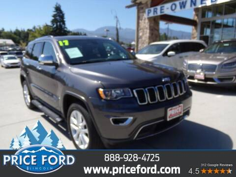 2017 Jeep Grand Cherokee for sale at Price Ford Lincoln in Port Angeles WA