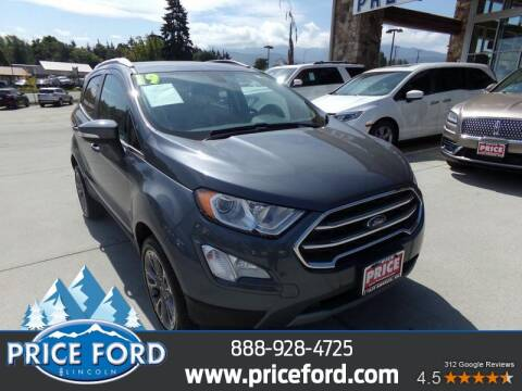 2019 Ford EcoSport for sale at Price Ford Lincoln in Port Angeles WA