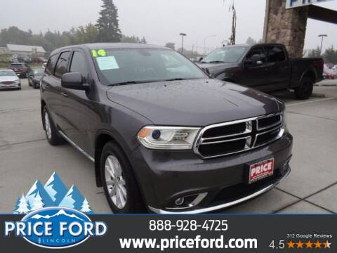 2014 Dodge Durango for sale at Price Ford Lincoln in Port Angeles WA