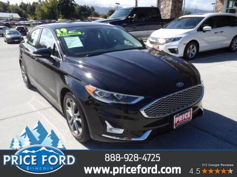 2019 Ford Fusion Hybrid for sale at Price Ford Lincoln in Port Angeles WA