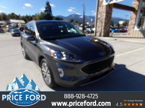 2020 Ford Escape Hybrid for sale at Price Ford Lincoln in Port Angeles WA