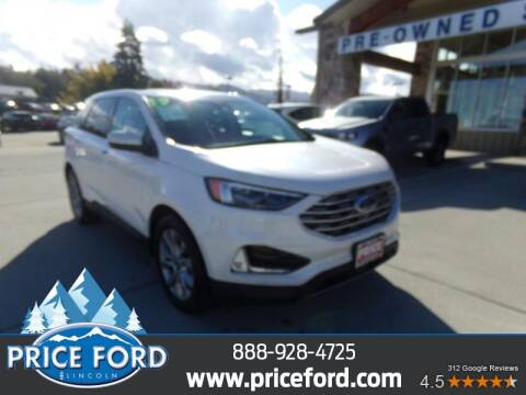 2019 Ford Edge for sale at Price Ford Lincoln in Port Angeles WA