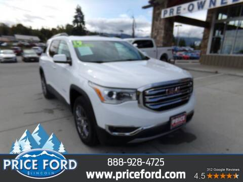 2019 GMC Acadia for sale at Price Ford Lincoln in Port Angeles WA