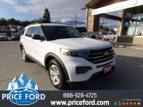 2020 Ford Explorer for sale at Price Ford Lincoln in Port Angeles WA