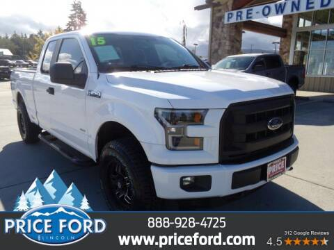 2015 Ford F-150 for sale at Price Ford Lincoln in Port Angeles WA