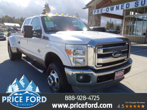 2012 Ford F-350 Super Duty for sale at Price Ford Lincoln in Port Angeles WA