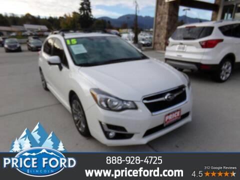 2015 Subaru Impreza for sale at Price Ford Lincoln in Port Angeles WA