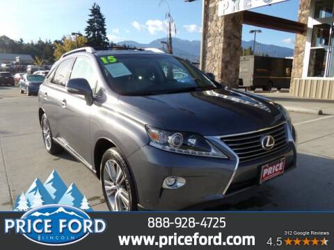 2015 Lexus RX 350 for sale at Price Ford Lincoln in Port Angeles WA