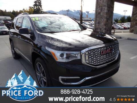 2017 GMC Acadia for sale at Price Ford Lincoln in Port Angeles WA