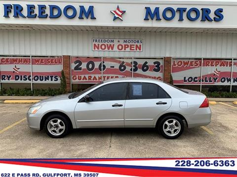 2007 Honda Accord for sale in Gulfport, MS