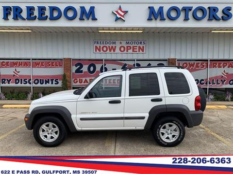 2002 Jeep Liberty for sale in Gulfport, MS