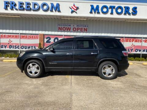 2008 GMC Acadia for sale in Gulfport, MS