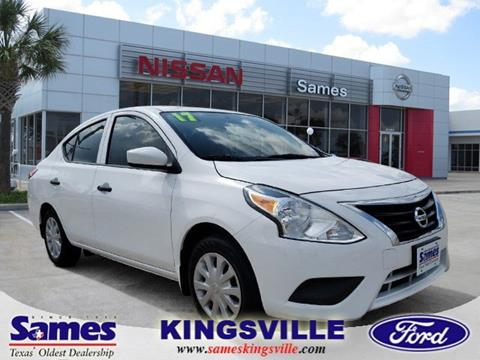2017 Nissan Versa for sale in Kingsville, TX