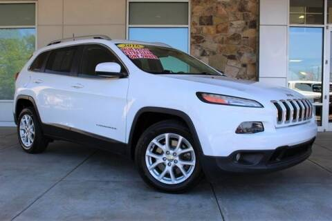 2016 Jeep Cherokee for sale at Griffin Mitsubishi in Monroe NC