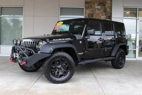 2015 Jeep Wrangler Unlimited for sale at Griffin Mitsubishi in Monroe NC