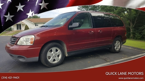 2005 Ford Freestar for sale in House Springs, MO