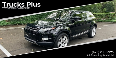 2013 Land Rover Range Rover Evoque Coupe for sale in Seattle, WA