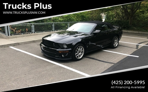 2008 Ford Shelby GT500 for sale in Seattle, WA