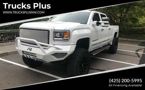 2016 GMC Sierra 3500HD for sale in Seattle, WA