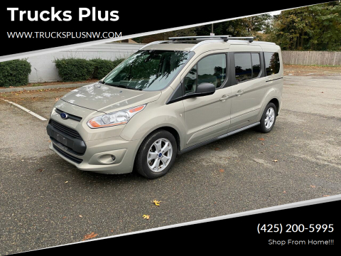 2016 Ford Transit Connect Wagon for sale at Trucks Plus in Seattle WA