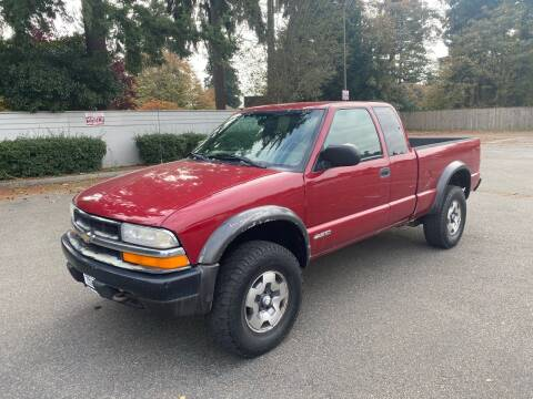 2001 Chevrolet S-10 for sale at Trucks Plus in Seattle WA