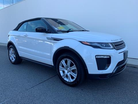 Range Rover Convertible For Sale >> 2018 Land Rover Range Rover Evoque Convertible For Sale In Plymouth Ma