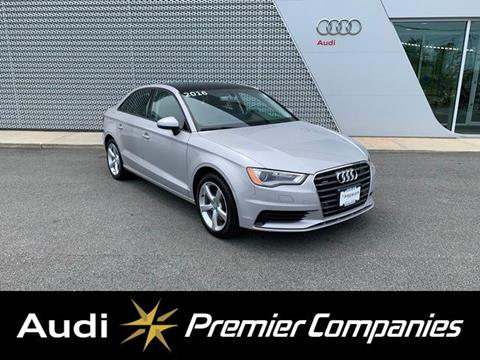2016 Audi A3 for sale in Plymouth, MA