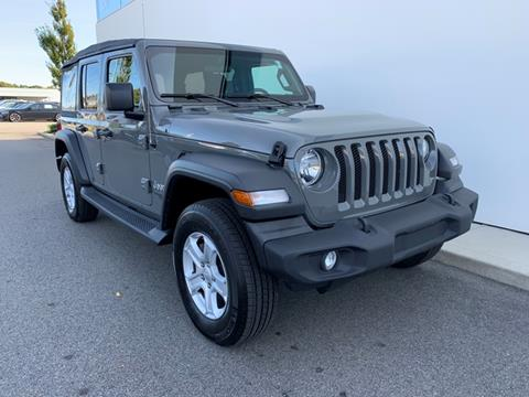 2018 Jeep Wrangler Unlimited for sale in Plymouth, MA