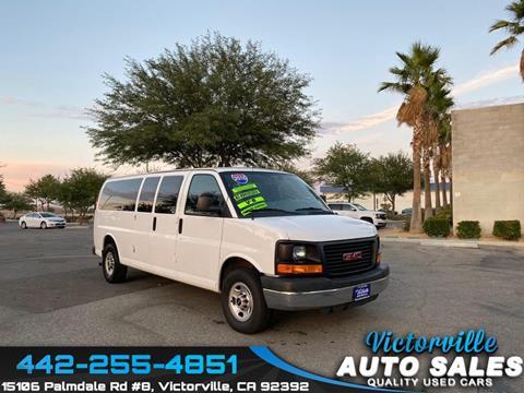 2016 GMC Savana Passenger for sale in Victorville, CA