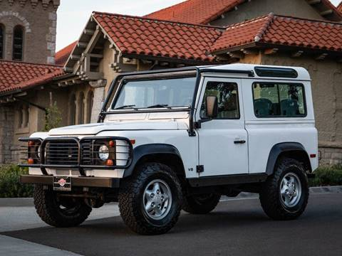 1997 Land Rover Defender 90 for sale at Chequered Flag International in Marina Del Rey CA