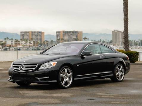 2012 Mercedes-Benz CL-Class CL 550 4MATIC for sale at Chequered Flag International in Marina Del Rey CA