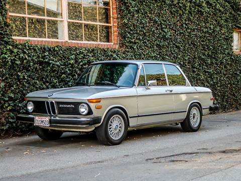 1974 BMW 2002 Tii for sale at Chequered Flag International in Marina Del Rey CA