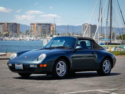 1995 Porsche 911 Carrera for sale at Chequered Flag International in Marina Del Rey CA